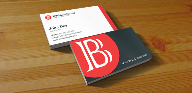 Free PSD Clean Business Card Free PSD Print Template Pixel - Business cards psd template