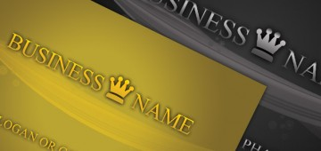 Exclusive Stylish Business Cards premium