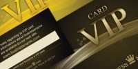Exclusive Stylish VIP Loyalty Cards