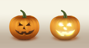 Halloween Pumpkin Free PSD Icons