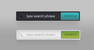 Clean Search Fields (Free PSD)
