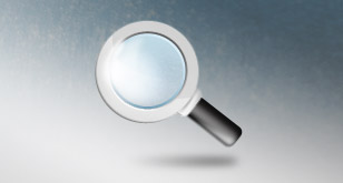 Saearch Icon – Magnifying Glass (Free PSD Icon)
