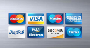 Credit / Debit Cards Icons – Free PSD File