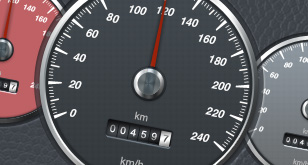 Car Speedometer – Free PSD Templates